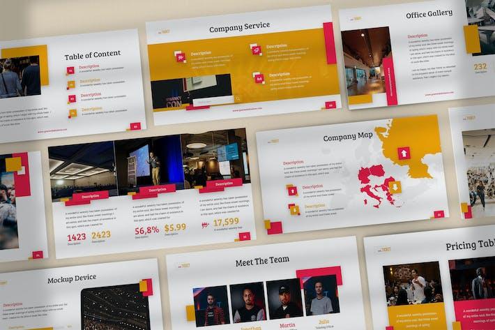 Thumbnail for NextTicket - Творческий шаблон Keynote