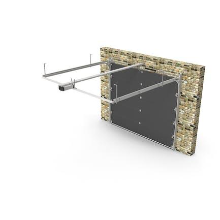 Segmented Garage Door