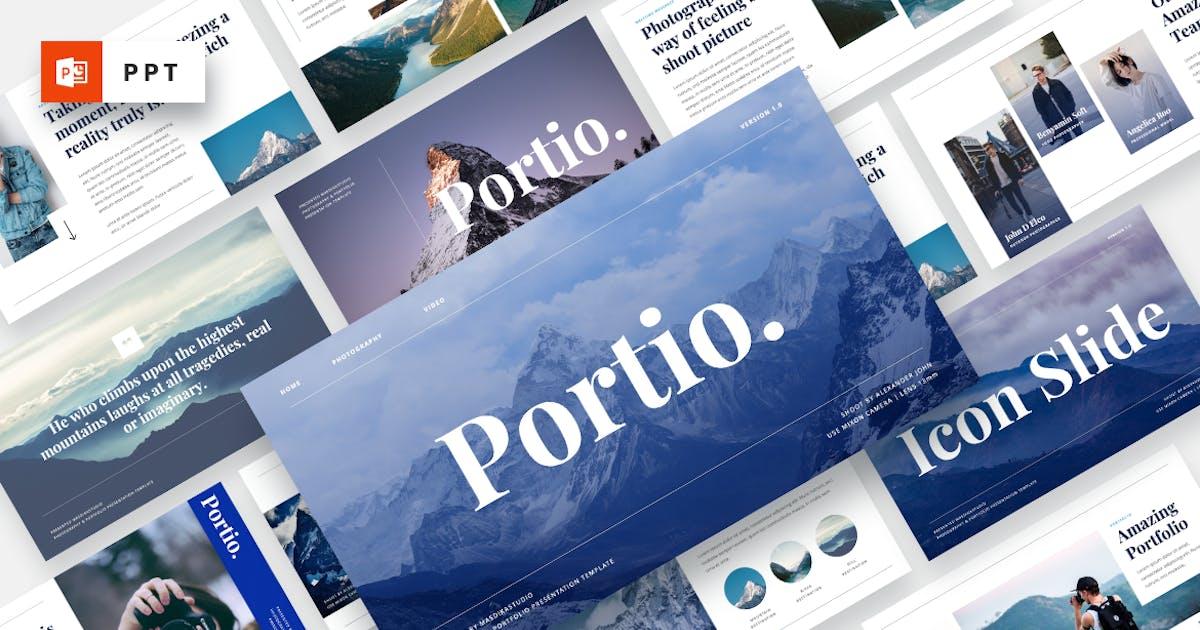 Download Portio - Photography Powerpoint Template by MasdikaStudio