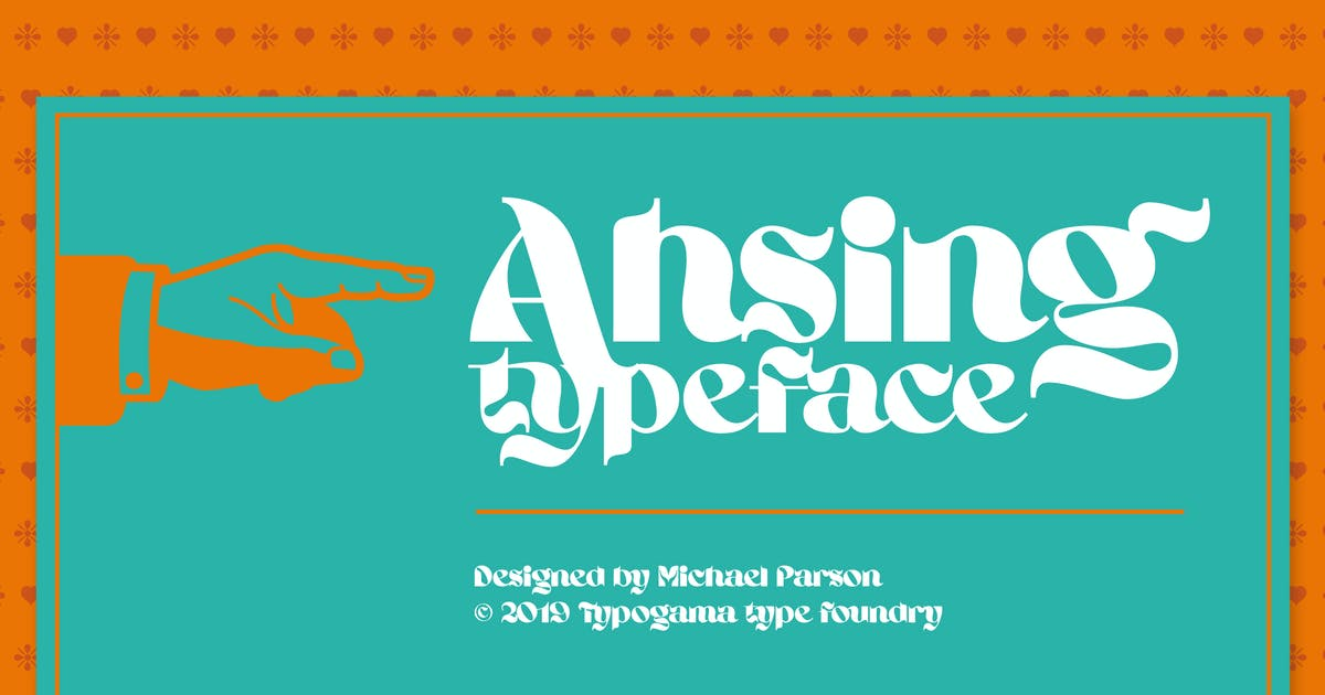 Download Ahsing by Typogama