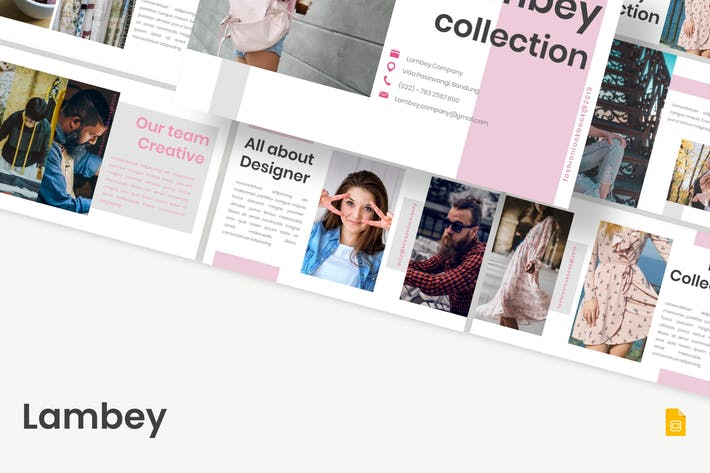 Thumbnail for Lambey - Google Slides Template
