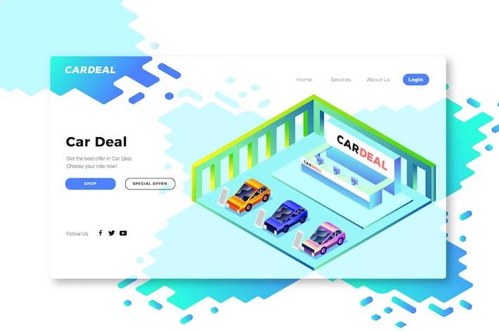 Thumbnail for Car Dealerships - Banner & Landing Page