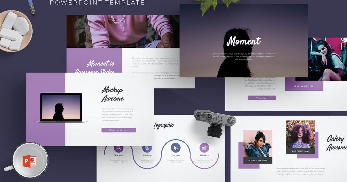 Download Moment - Powerpoint Template by aqrstudio
