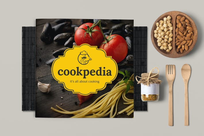 Food Brochure Template By Broluthfi On Envato Elements - Food brochure templates