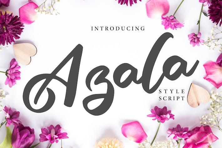 Thumbnail for Azala | Style Script Font