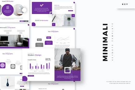 Minimali - Keynote Vorlage