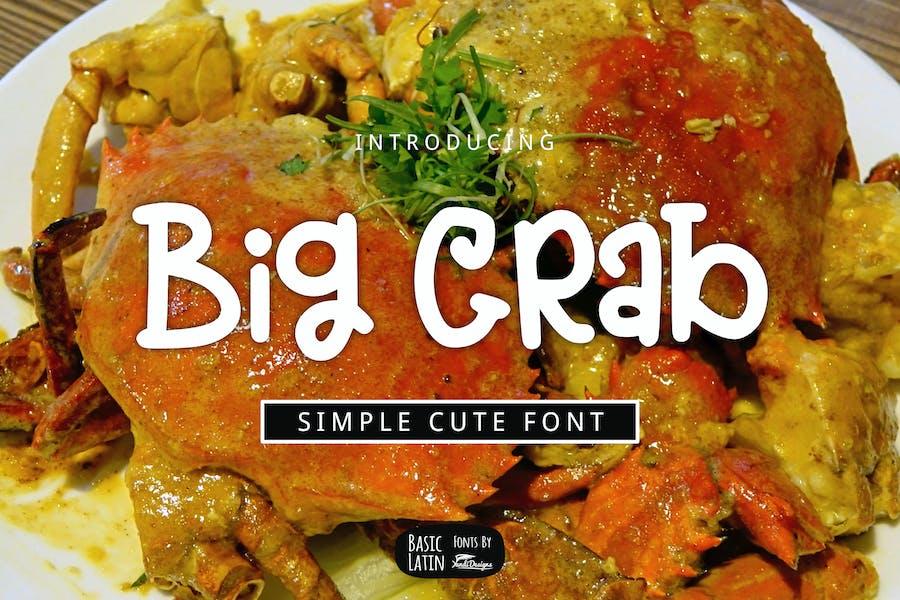 Big Crab Font