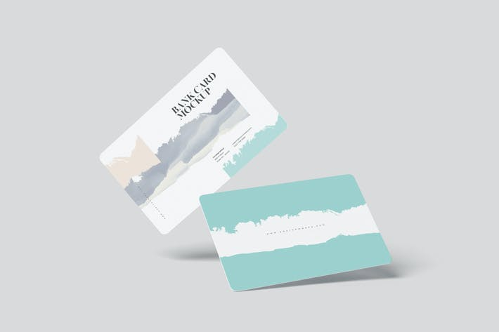Thumbnail for Bank Card Mockups