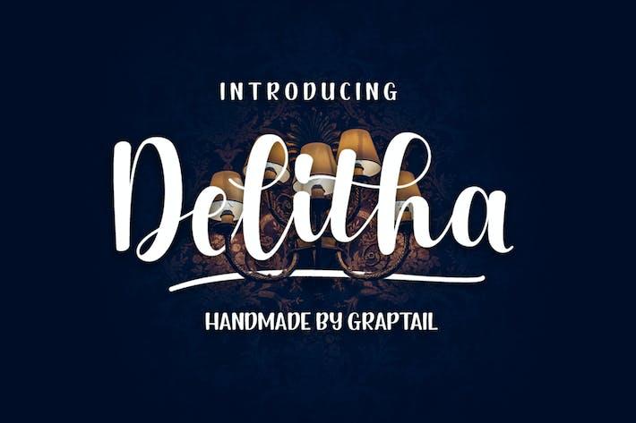 Thumbnail for Delitha Script