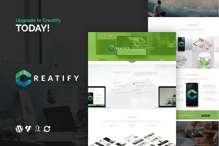 Creatify - Multifunción Negocios WordPress Tema