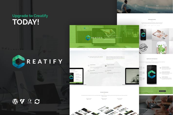 Thumbnail for Creatify - Multipurpose Business WordPress Theme