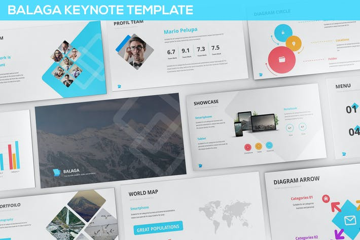 Cover Image For Balaga Keynote Template