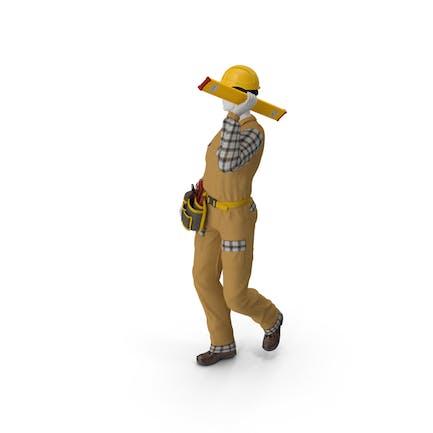Builder Walking Pose