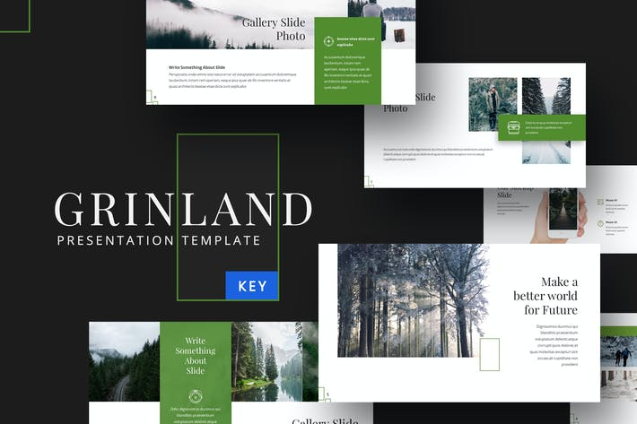 Grinland - Forest Keynote Template