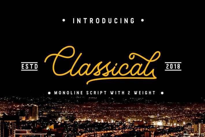 Classique - Classy Monoline