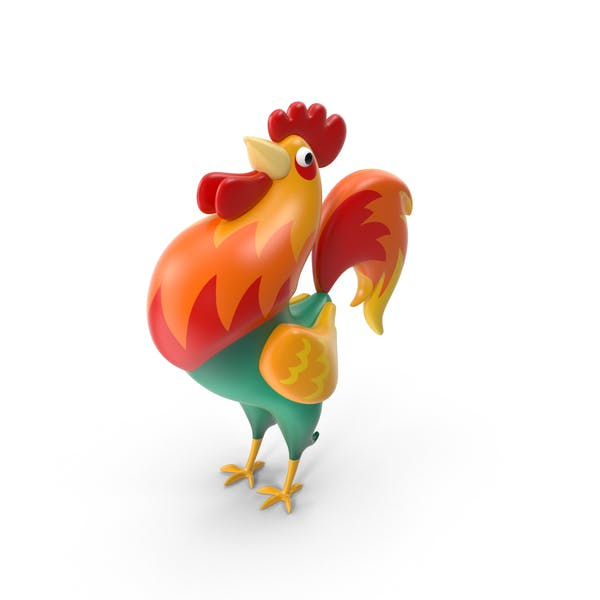 Cover Image for Cartoon Rooster