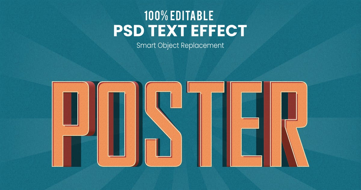 Download Retro 3D Text Effect Action PSD by nathatype