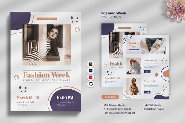 Fashion Week Flyer - product preview 0