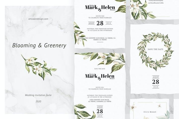 Thumbnail for Blühende und grüne Einladung