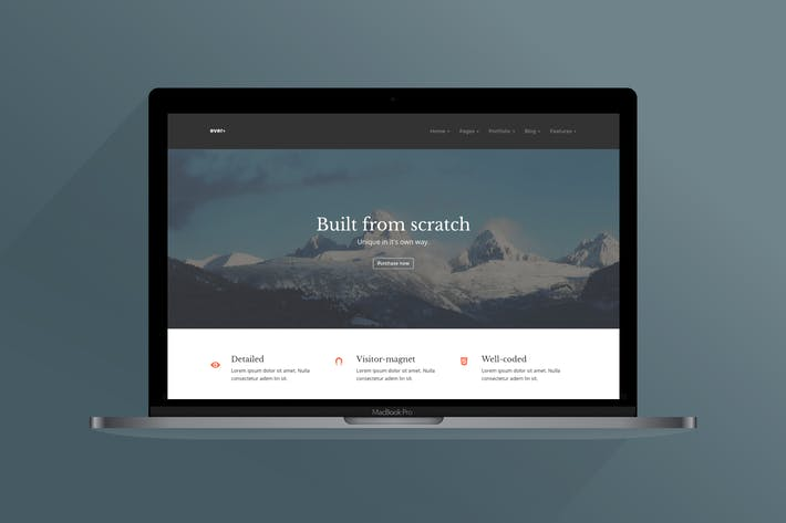 Thumbnail for Ever+ | Multipurpose HTML Template