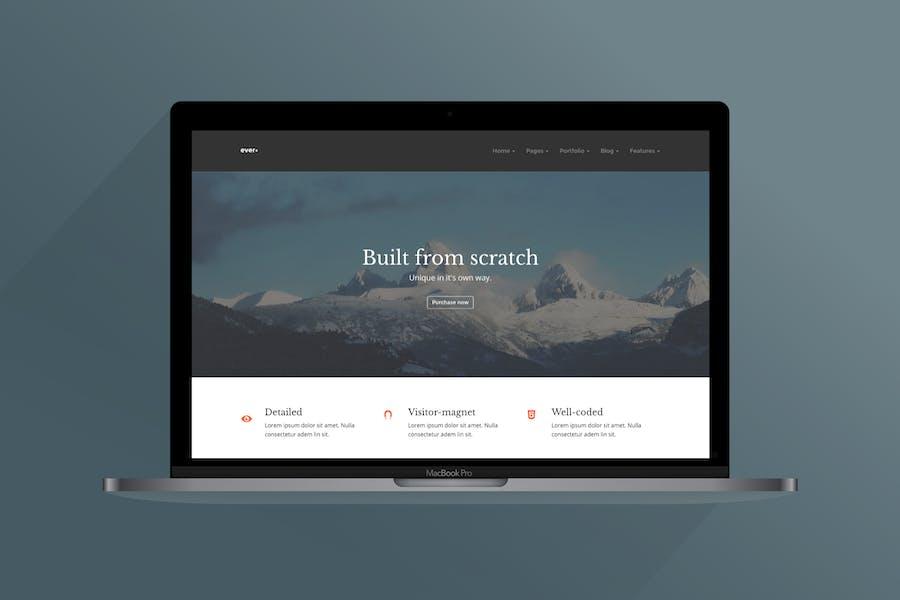 Ever+ | Multipurpose HTML Template