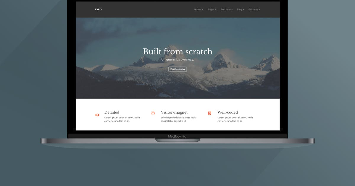 Download Ever+   Multipurpose HTML Template by ThemeVillain