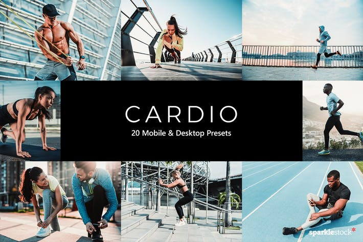 Thumbnail for 20 Cardio Lightroom Presets & LUTs