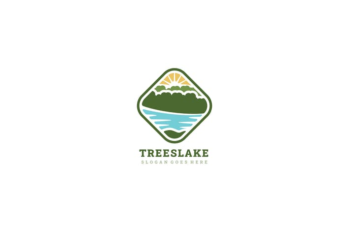 Thumbnail for Lake and Trees Logo