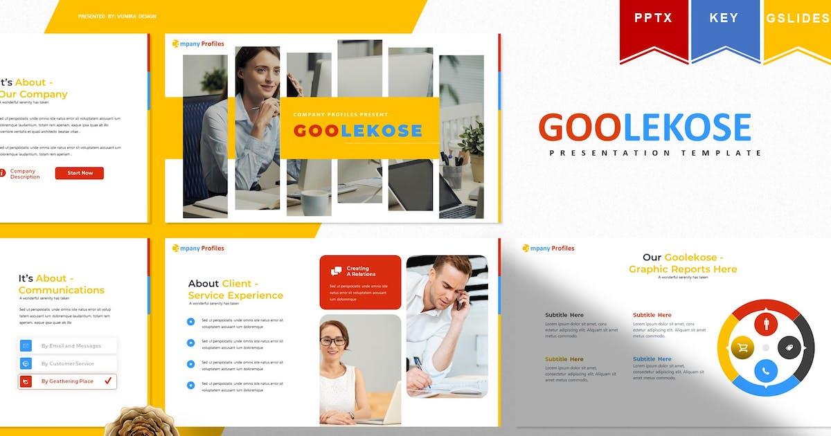 Download Goolekose   Powerpoint, Keynote, Googleslide by Vunira