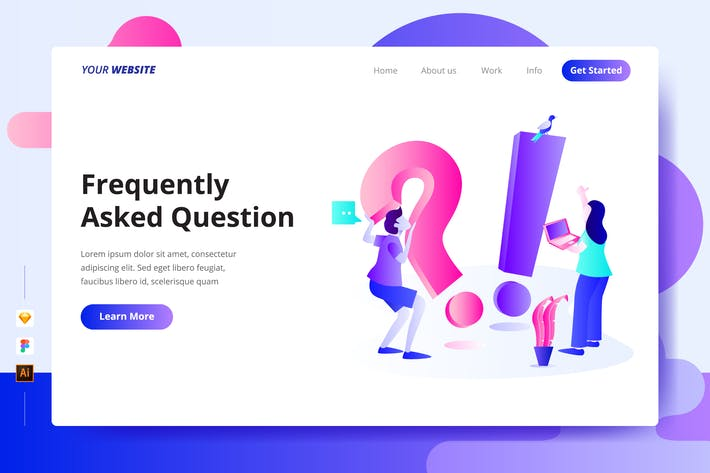 Frequently Asked Question - Landing Page