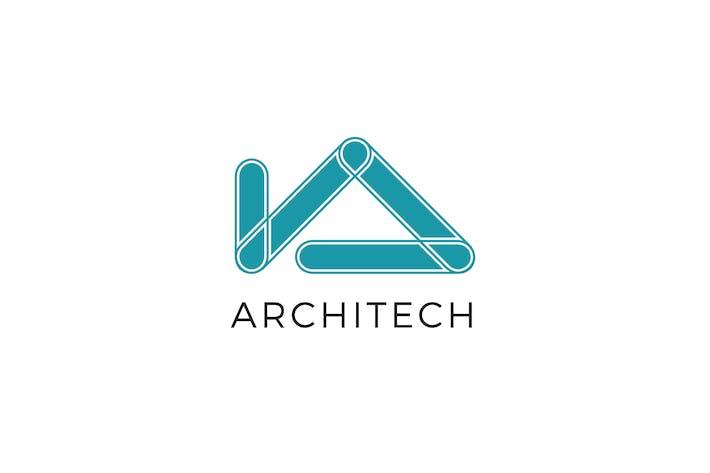 Architech A Letter Logo Template