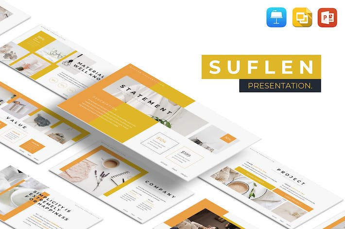 Thumbnail for Suflen Multipurpose Presentation Template