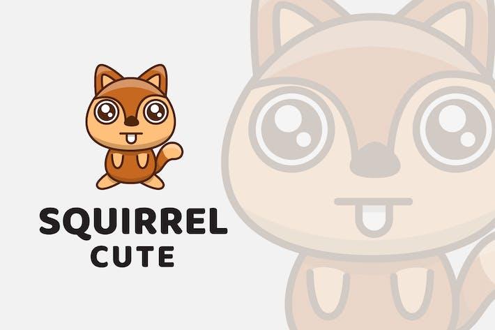 Thumbnail for Squirrel Cute Logo Template