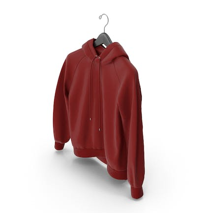 Red Hoodie with Hanger