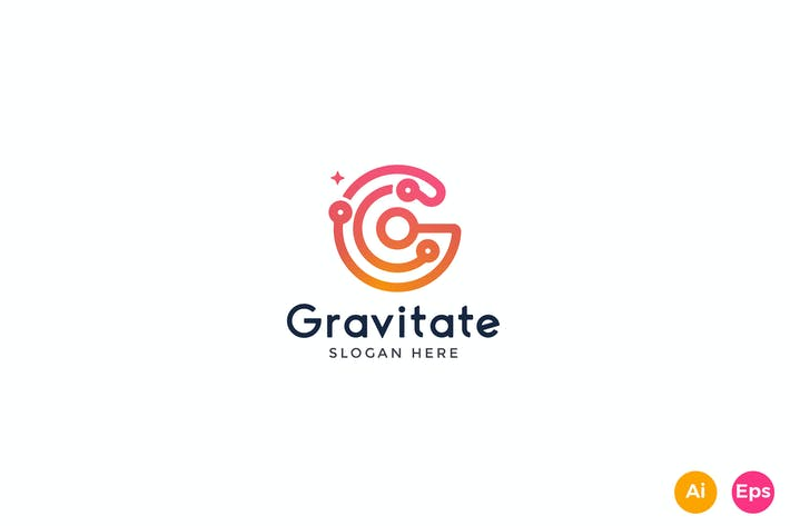 Thumbnail for Gravitate Letter G logo Template