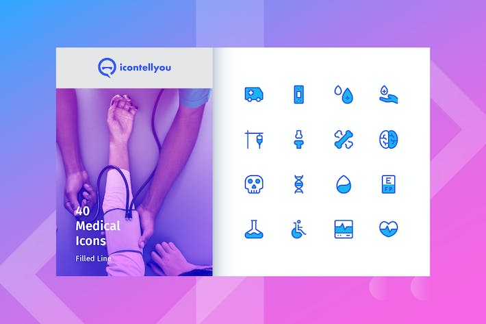 Thumbnail for Icontellyou - Medical (Filled Line)