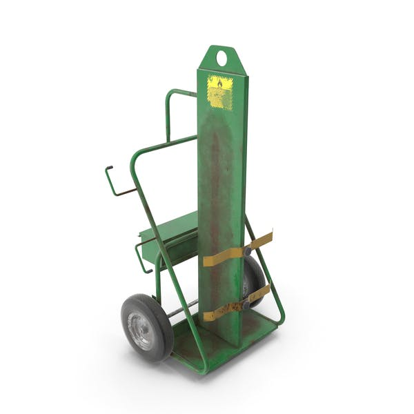Thumbnail for Dual Cylinder Gas Welding Cart Old