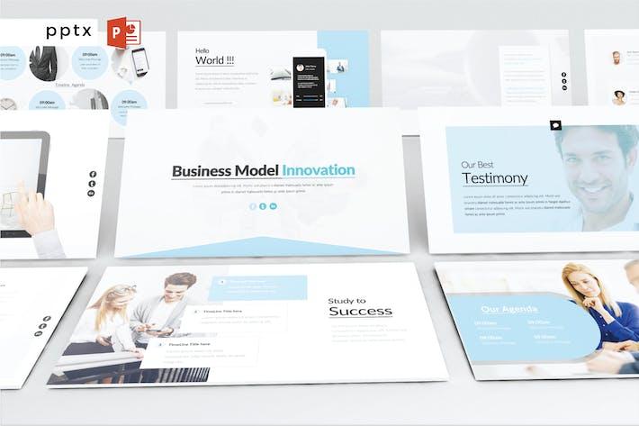 Thumbnail for Инновации бизнес-модели - Powerpoint V551