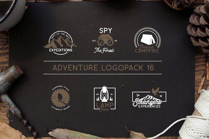 Thumbnail for Adventure Logopack Vol. 16