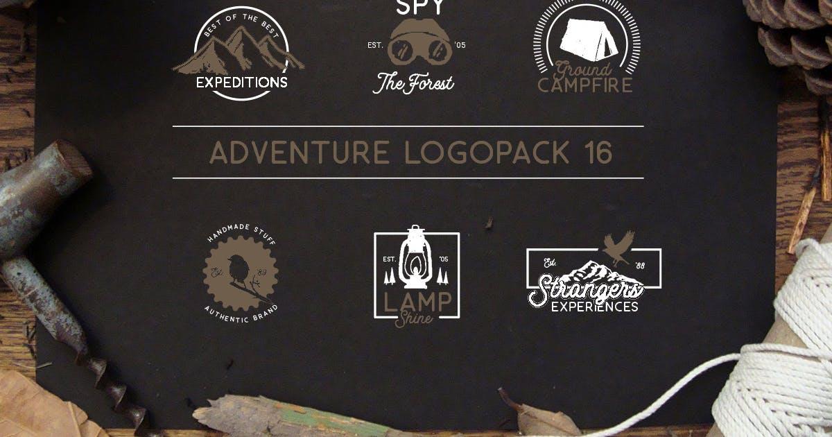Adventure Logopack Vol. 16 by letterhend