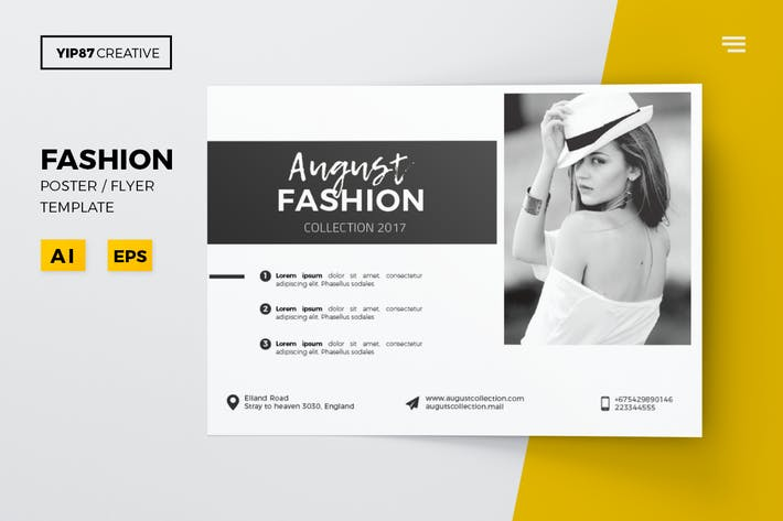Thumbnail for August Fashion Flyer