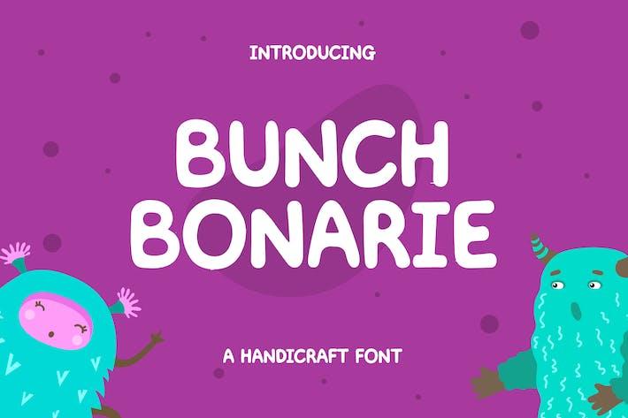 Thumbnail for Bunch Bonarie Sans Serif Font