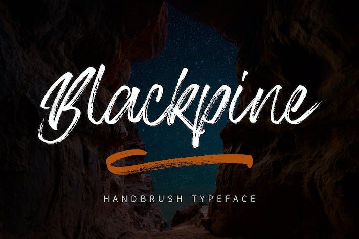 Thumbnail for Blackpine - Handbrush Typeface YR