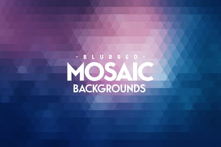 Blurred Mosaic Backgrounds