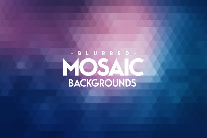 Thumbnail for Blurred Mosaic Backgrounds