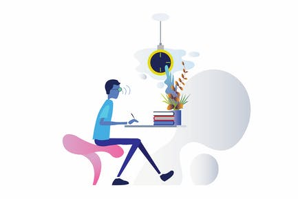 Workspace Smartthings Voice Control Illustration