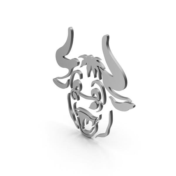 Bull Cartoony Metal