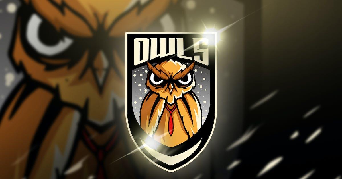 Download owl orange - Mascot & Esports Logo by aqrstudio