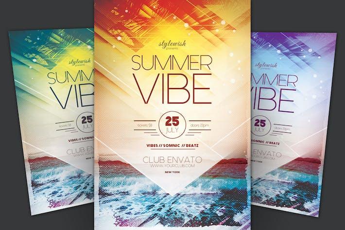 Thumbnail for Summer Vibe Flyer