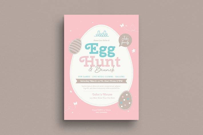 Thumbnail for Easter Egg Hunt & Brunch Flyer